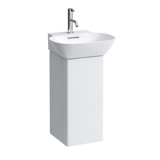 LAUFEN INO Waschtischunterschrank mit 1 Tür Front weiß matt / Korpus weiß matt