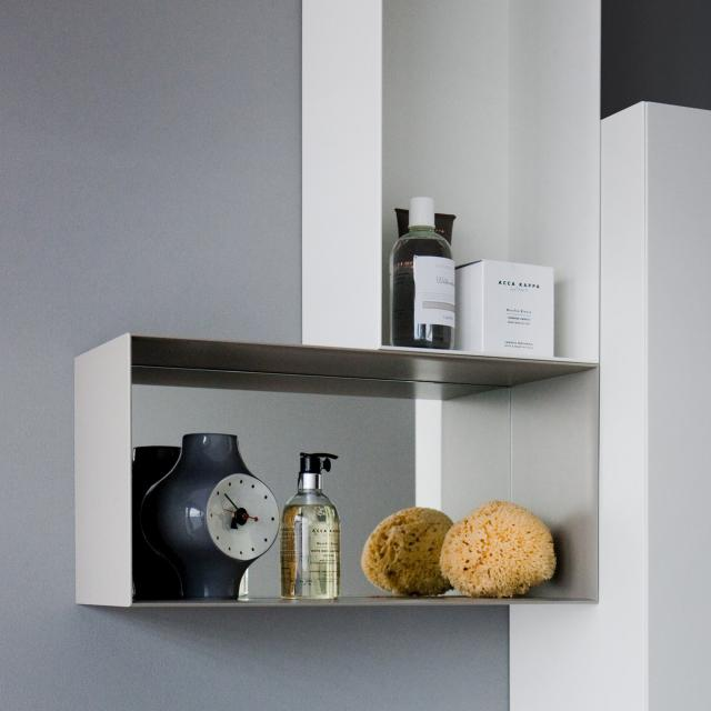 LAUFEN Palomba Regal-Box, rechteckig weiß