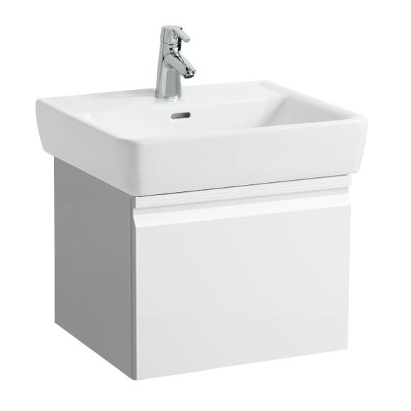LAUFEN Pro A Waschtischunterschrank mit 1 Auszug Front weiß matt / Korpus weiß matt, ohne Innenschublade