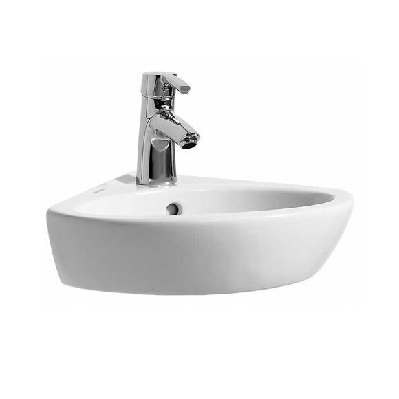 Laufen Pro B Eck-Handwaschbecken weiß