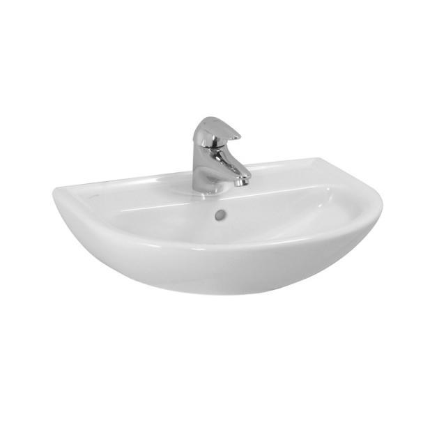 LAUFEN Pro B Handwaschbecken weiß, mit Überlauf, mit 1 Hahnloch