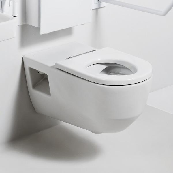 Laufen Pro Liberty Wand-Tiefspül-WC, spülrandlos weiß
