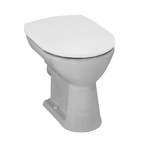 Laufen Pro Stand-Flachspül-WC, Ausführung kurz pergamon