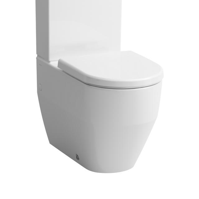 Laufen Pro Stand-Tiefspül-WC-Kombination, spülrandlos weiß