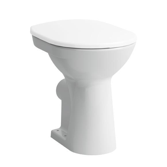 LAUFEN Pro Stand-Tiefspül-WC weiß, mit CleanCoat