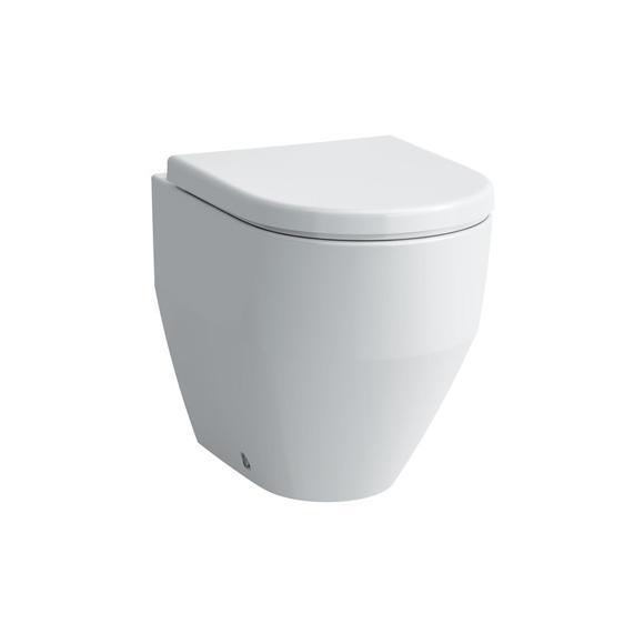 Laufen Pro Stand-Tiefspül-WC mit Spülrand, weiß, mit CleanCoat