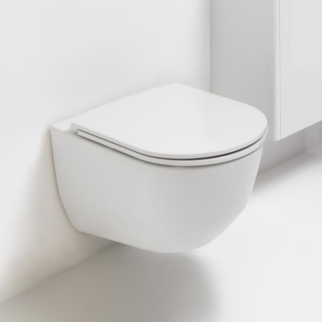 Laufen Pro Wand-Flachspül-WC weiß, mit CleanCoat