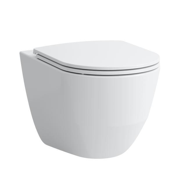Laufen Pro Wand-Tiefspül-WC Comfort, spülrandlos weiß, mit CleanCoat