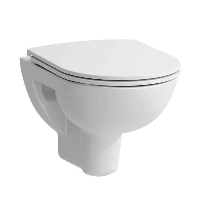 Laufen Pro Wand-Tiefspül-WC Compact, spülrandlos weiß, mit CleanCoat