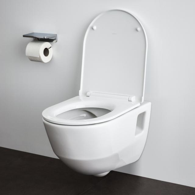 Laufen Pro Wand-Tiefspül-WC, spülrandlos weiß, mit CleanCoat