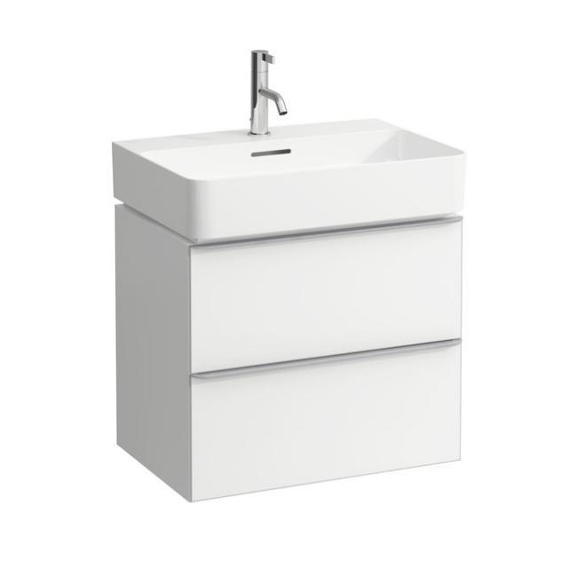 LAUFEN Space Waschtischunterschrank mit 2 Auszügen Front weiß matt / Korpus weiß matt