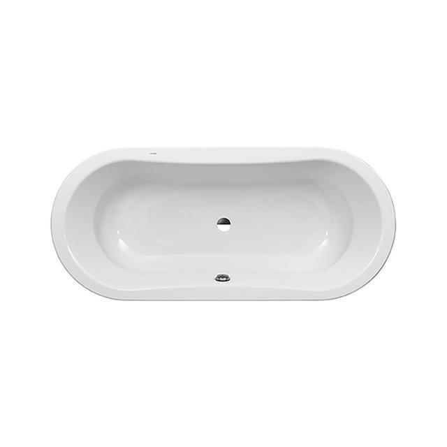 LAUFEN Thallium Duo Oval-Badewanne, Einbau