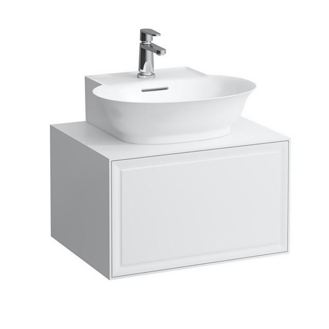 LAUFEN The New Classic Handwaschbeckenunterschrank mit 1 Auszug Front weiß glanz / Korpus weiß glanz