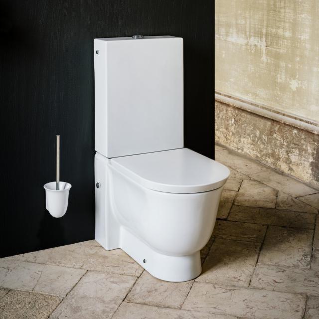 Laufen The New Classic Stand-Tiefspül-WC für Kombination spülrandlos weiß matt