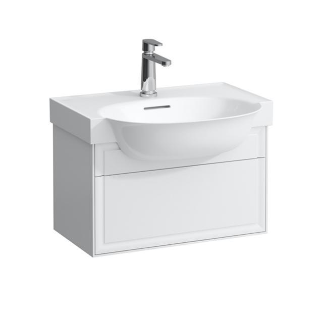 Laufen The New Classic Waschtischunterschrank mit 1 Auszug Front weiß glanz / Korpus weiß glanz