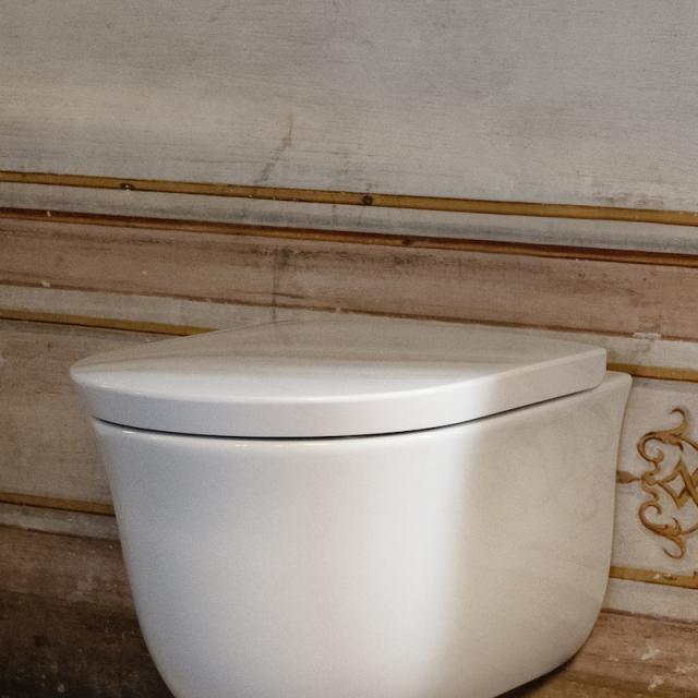 Laufen The New Classic WC-Sitz mit Deckel weiß