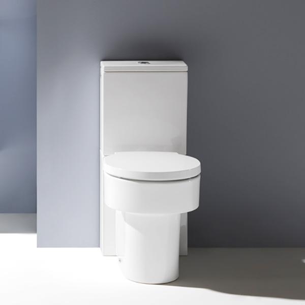 Laufen VAL Stand-Tiefspül-WC für Kombination, spülrandlos weiß, mit CleanCoat