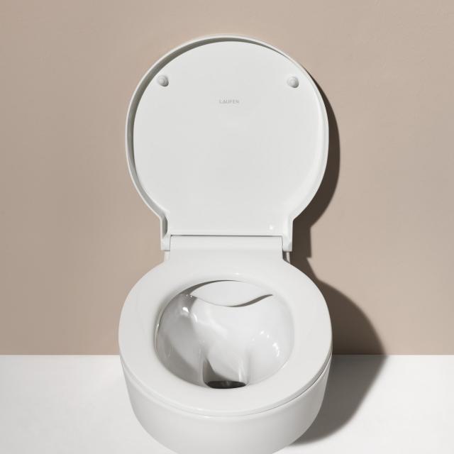 LAUFEN VAL WC-Sitz mit Deckel weiß weiß