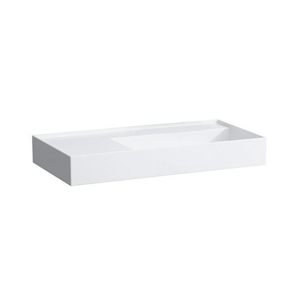 kartell by laufen waschtisch wei mit clean coat ohne hahnloch h8103394001121 reuter. Black Bedroom Furniture Sets. Home Design Ideas