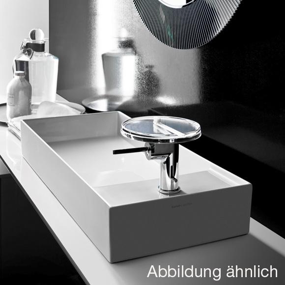 kartell by laufen waschtisch schale grau matt mit 1 hahnloch h8123327591111 reuter. Black Bedroom Furniture Sets. Home Design Ideas