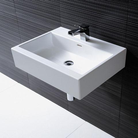 laufen living city handwaschbecken ohne hahnloch ungeschliffen h8174310001091 reuter. Black Bedroom Furniture Sets. Home Design Ideas
