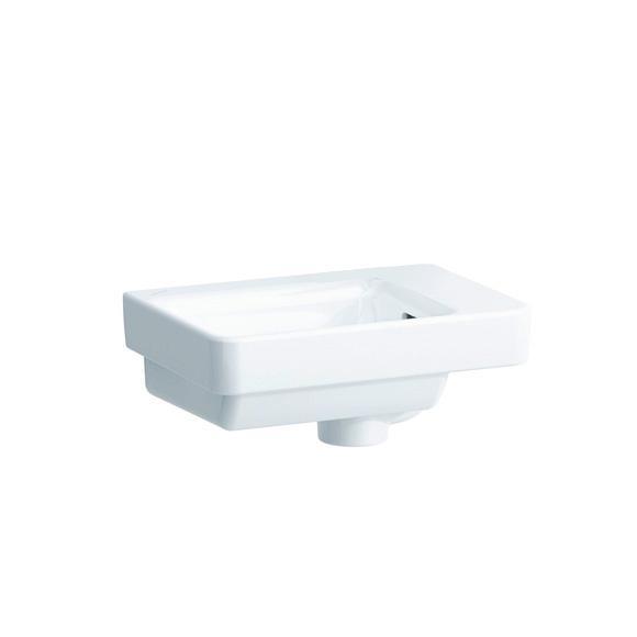 laufen pro s handwaschbecken wei mit berlauf ohne hahnloch h8159600001091 reuter. Black Bedroom Furniture Sets. Home Design Ideas
