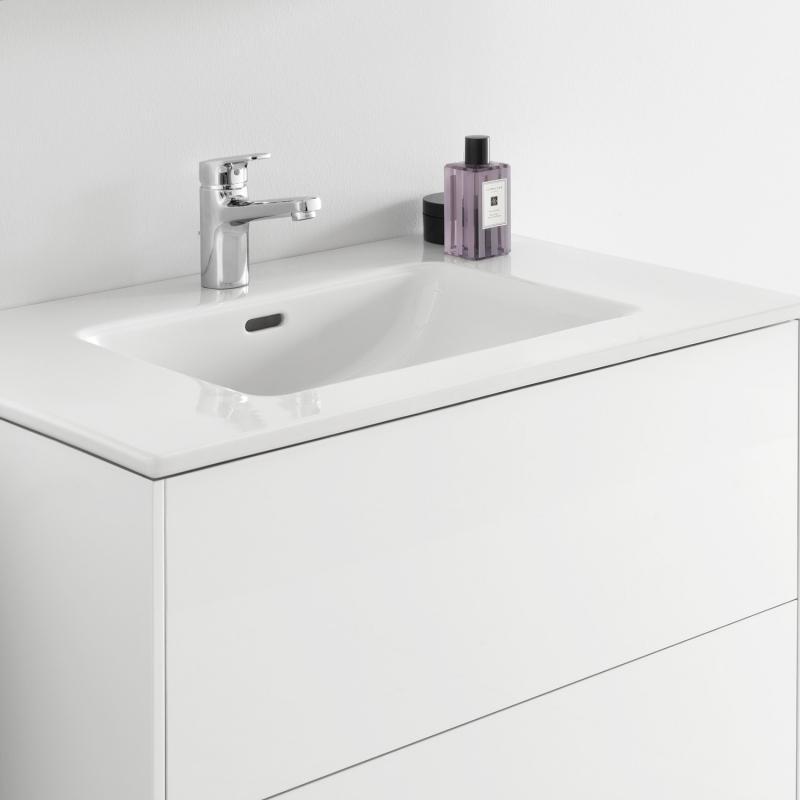 laufen pro s waschtisch mit base waschtischunterschrank mit 2 ausz gen front wei matt korpus. Black Bedroom Furniture Sets. Home Design Ideas