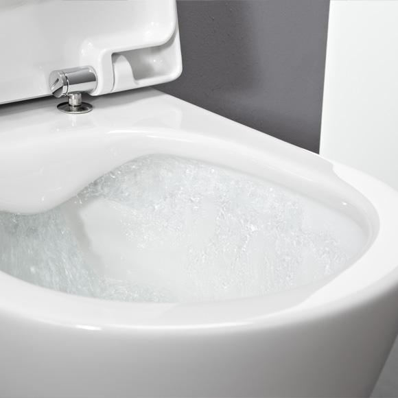 Hervorragend Laufen pro Wand-Tiefspül-WC spülrandlos weiß mit Clean Coat  XX26