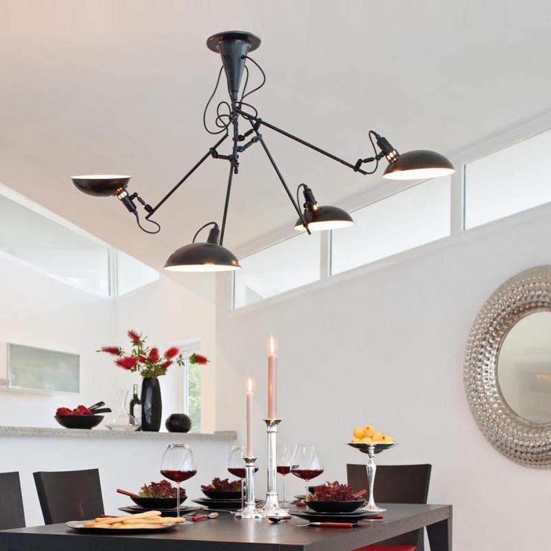 lambert switch on deckenleuchte 4 flammig 47238 reuter. Black Bedroom Furniture Sets. Home Design Ideas
