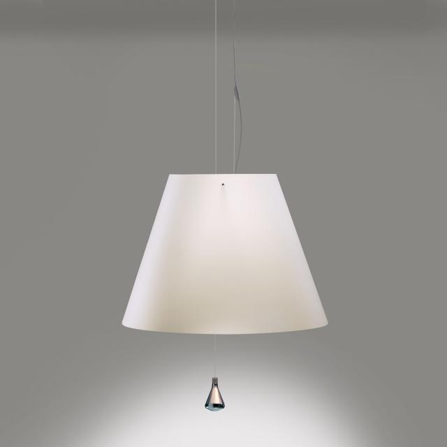 LUCEPLAN Costanza LED Pendelleuchte mit Zugseil, aluminium