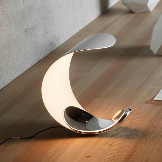 LUCEPLAN Curl D76 LED Tischleuchte mit Dimmer