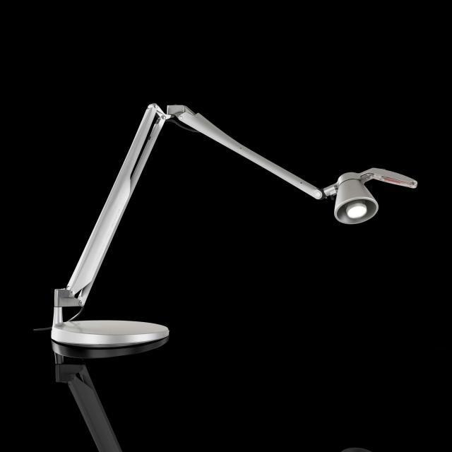 LUCEPLAN Fortebraccio LED Tischleuchte mit Tischfuß und Ein/Aus-schalter