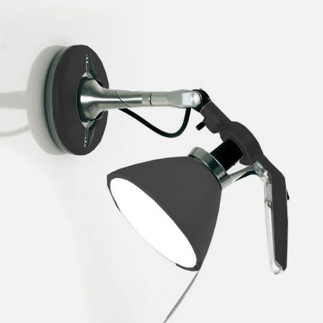 LUCEPLAN Fortebraccio Wandleuchte mit Ein/Aus-Schalter, 100 Watt