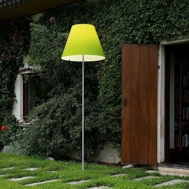 LUCEPLAN Grande Costanza Open Air Stehleuchte mit Schraubbefestigung in aluminium
