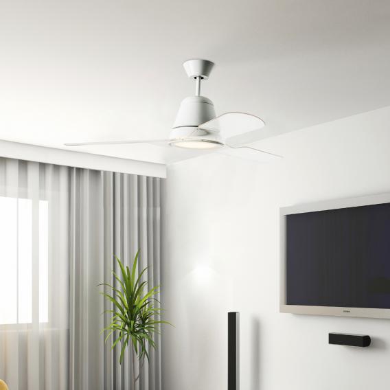 LEDS-C4 Tiga LED Deckenleuchte/Ventilator
