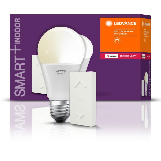 LEDVANCE Smart+ LED E27 Dimmable mit Switch Mini Starter Kit