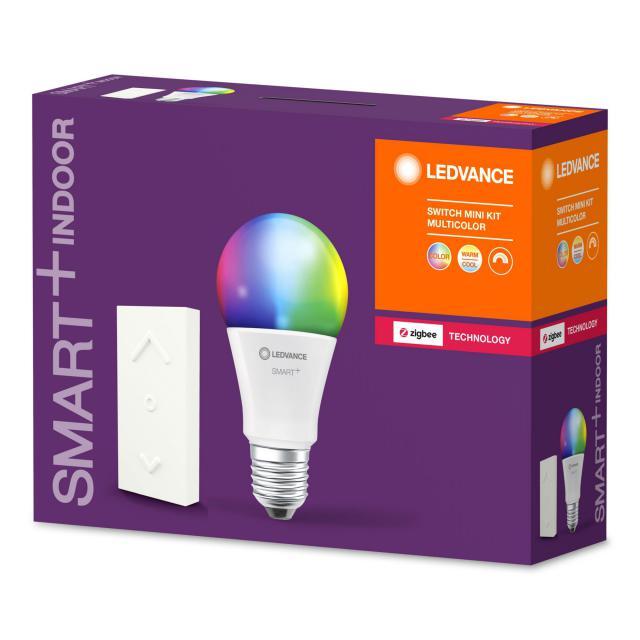 LEDVANCE Smart+ LED E27 Multicolor mit Switch Mini Starter Kit