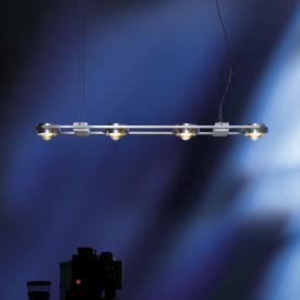 Licht im Raum Ocular 4 LED Pendelleuchte mit Uplight, lang