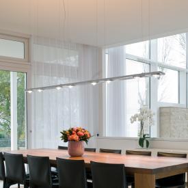 Licht im Raum Ocular 8 Serie 100 LED Pendelleuchte mit Uplight