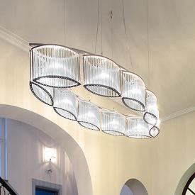 Licht im Raum Stilio Oval 10 Pendelleuchte