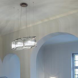 Licht im Raum Stilio Oval 6 Pendelleuchte