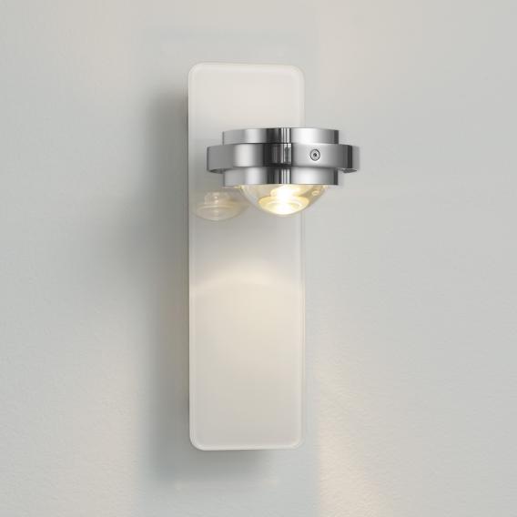 Licht im Raum Ocular Glas LED Wandleuchte