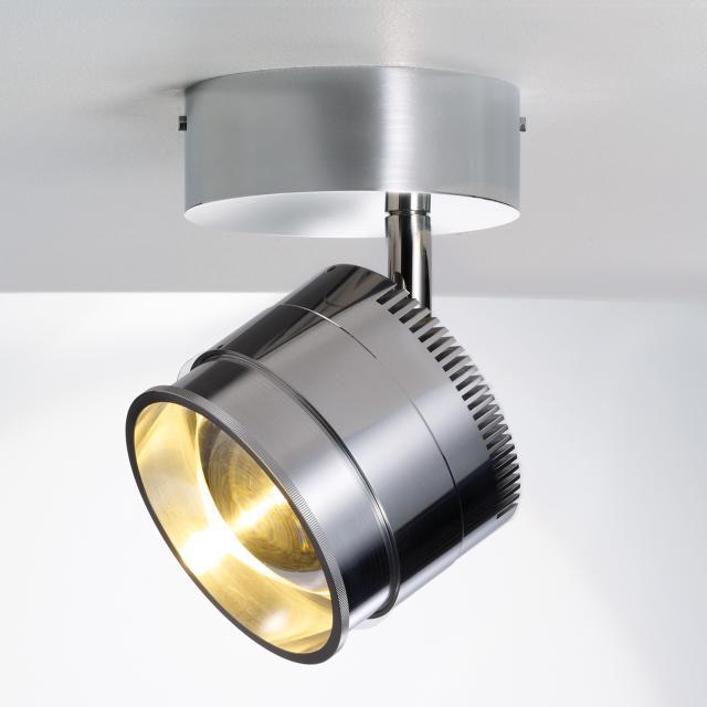 LICHT IM RAUM Ocular Spot 1 Serie 100 Zoom LED Deckenspot, rund