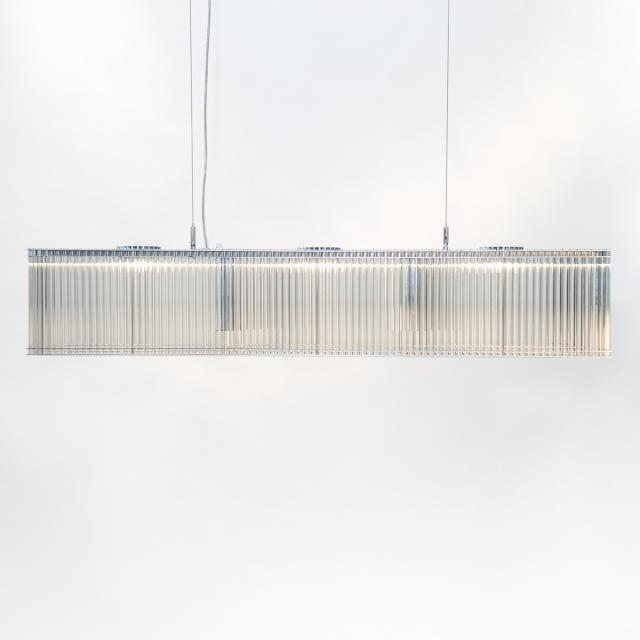 LICHT IM RAUM Stilio Uno 1100 Linie LED Pendelleuchte