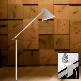 louis poulsen NJP LED Tischleuchte mit Tischklemme und Dimmer