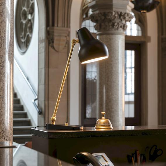 louis poulsen VL38 LED Tischleuchte mit Dimmer