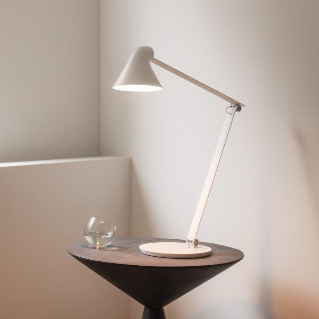 louis poulsen NJP LED Tischleuchte mit Standfuß und Dimmer