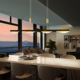 luce elevata pure up LED Pendelleuchte, 4-flammig