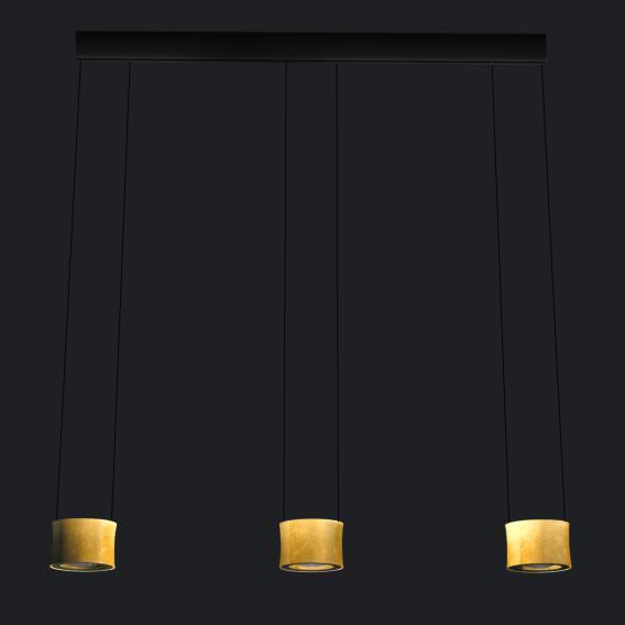 luce elevata impulse triple LED Pendelleuchte 3-flammig
