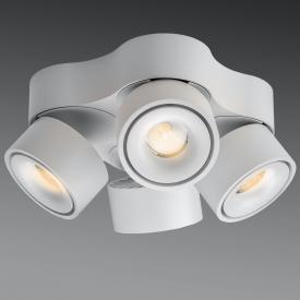 lumexx Easy Quattro LED Deckenleuchte/Spot, 4-flammig
